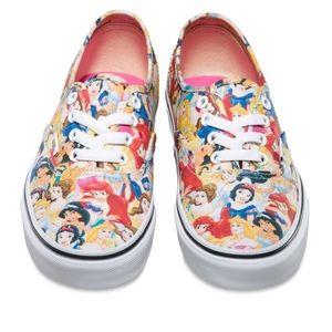 Vans Toddler Disney Princesses . 💓💙❤️